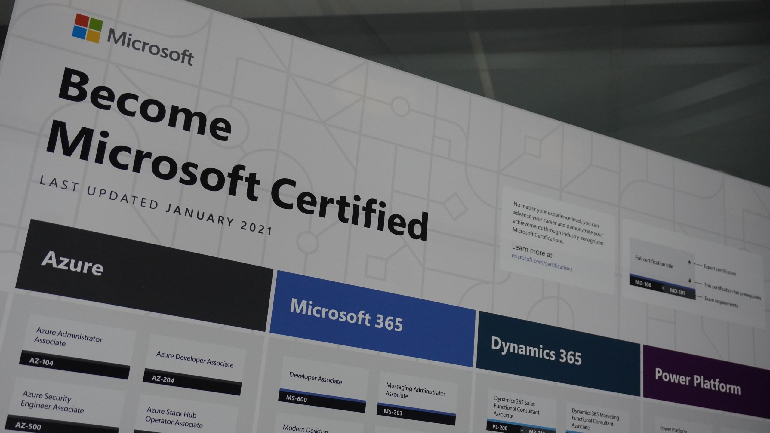 microsoft certificeren